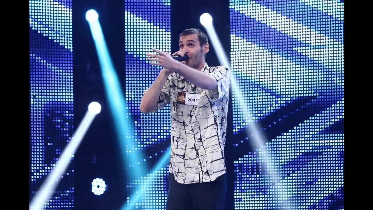 """Gheorghe Gheorghiu - """"Eu sunt nebunul care te iubește"""". Interpretarea lui Mihăiță Stan, la X Factor!"""