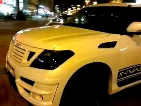INVADER N40-Nissan Patrol in U.A.E!