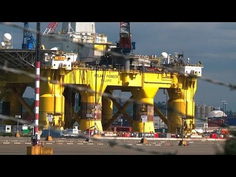 Battle over Arctic drilling rages on as Shell readies its rigs