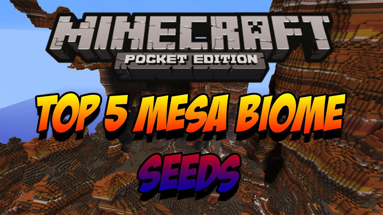 Mesa Biomes Minecraft pe Biome Seeds Minecraft pe