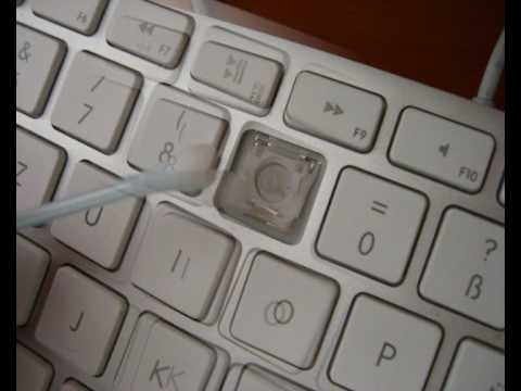 Apple keyboard keycap removal and cleaning howto by henk How to clean the exterior of a macbook pro