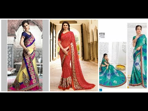 Best Fancy Saree Design for Girls _ Women 2018