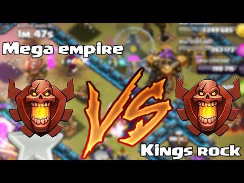Clash of clans - KINGS ROCK vs. MEGA EMPIRE (Leaderboard wars)