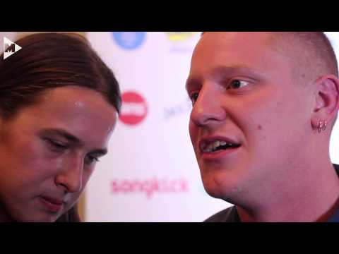 Jungle interview - the AIM Awards 2015