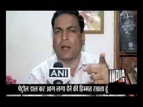 India TV live debate on A P Singh remark against women Part 3