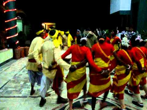 Traditional Folk Dance Santali Assam India (bankura) Adibasi Nitta Asam video
