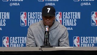 Kyle Lowry Postgame Interview - Game 2 | Raptors vs Bucks | 2019 NBA Playoffs