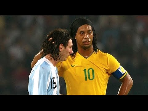 Ronaldinho & Messi ● The Movie ●  Two Legends - One Story || Hd video