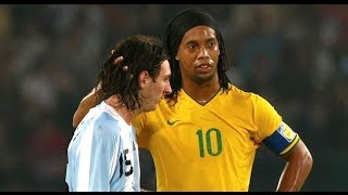 Ronaldinho & Messi ● THE MOVIE ●  Two Legends - One Story || HD