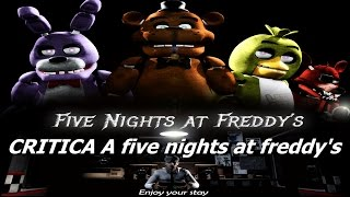 analisis a five nights at freddy