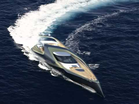 X-Sym 125 Yacht With Asymmetrical Design and Exclusive Curves by ...