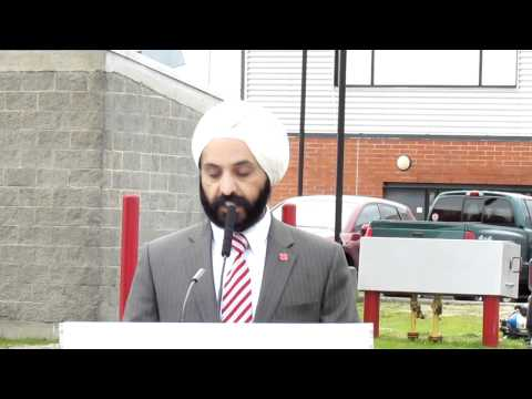 Dr Singh's Speech Canadian Red Cross
