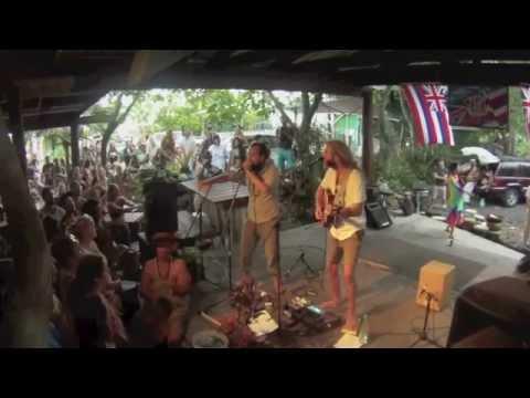 Trevor Hall ft Tubby Love - Big Island Hawaii Flow Fest - My Beating Heart/Culture Bleeding Mashup