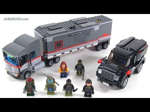 LEGO Ninja Turtles 79116 Big Rig Snow Getaway review!