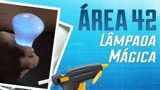 Como fazer uma lâmpada mágica que acende na sua mão [Área 42] - Baixaki