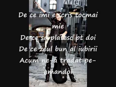 Madalina Manole Si vei pleca Lyrics