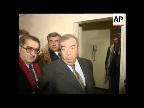 SWITZERLAND: DAVOS: WORLD ECONOMIC FORUM: KOSOVO
