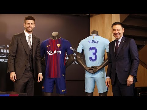 FULL STREAM | Gerard Piqué signs his new contract #Pique2022