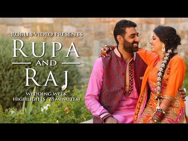 Rupa Kamboj & Raj Aulakh - Cinematic Wedding Day Highlights (Sikh)