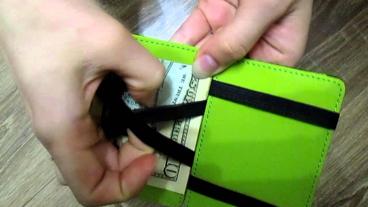 Как сделать чудо кошелек своими руками