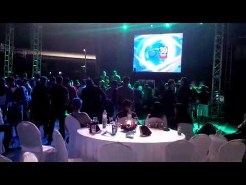 Dubai duty free staff party shift A