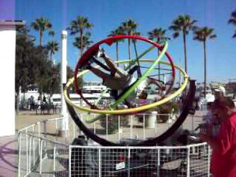 Long Beach Orbotron Ride