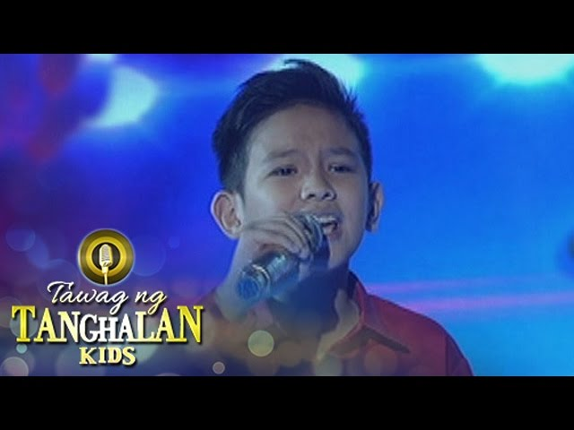 Tawag ng Tanghalan Kids: Justine Tan | Love On Top