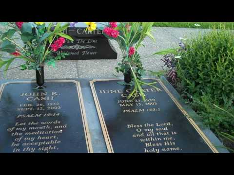 Gravesite of Johnny Cash and June Carter Cash Music Videos