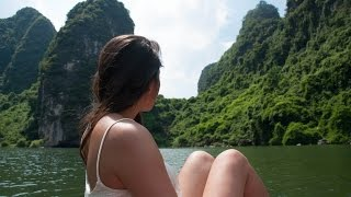 Floating around Trang An   NINH BINH, VIETNAM