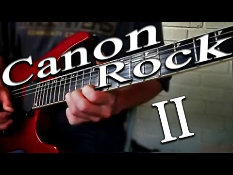 Canon Rock Lesson 2 (NEW SERIES)