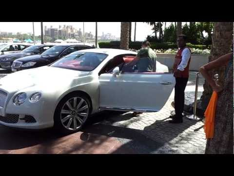 Exotic Cars At Burj Al Arab Hotel, Dubai. 01.04.2013 video