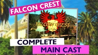 Falcon Crest Opening Complete Main Cast