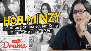 Không chỉ với BTS, Hòa Minzy cả đống Drama với các nhóm Kpop khác cơ - HÍT HÀ DRAMA