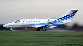 Cessna 525 Citation CJ3 M-MIKE takeoff from London-Southend [SEN/EGMC]