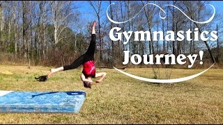 My Aerial Then And Now | Self-Taught Gymnastics