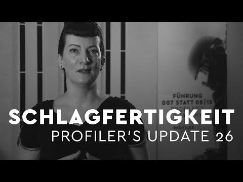 Schlagfertigkeit trainieren - Profiler's Update 26