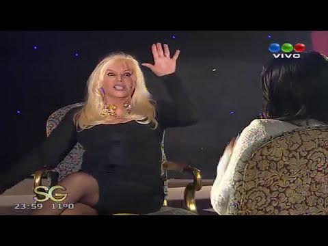 Karina Jelinek con Susana Gimenez