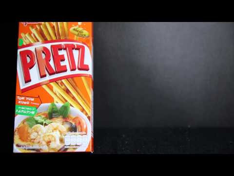 Pretz Tom Yum Kung Flavour from Thailand Import Review