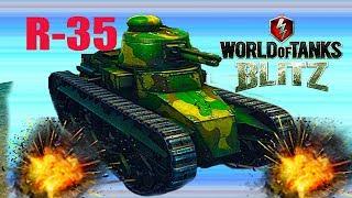 WoT Blitz обзор танк R-35 Для новичков В погоню за AMX 12 T немецкая ветка World of Tanks Blitz #30