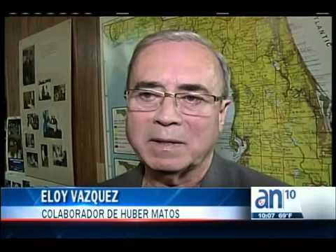 Reacciones en el Sur de la Florida tras la muerte de Huber Matos - América TeVé