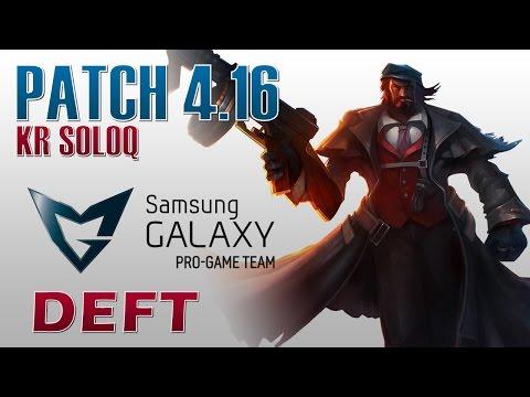 SG Blue Deft - Graves vs Corki - KR SoloQ