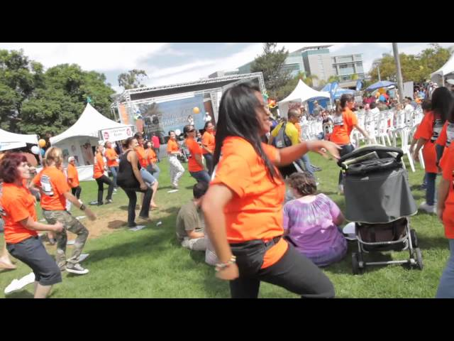 Flash Mob in support of Child Literacy brought to you by Infinity Insurance