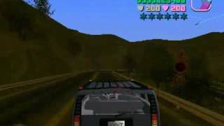 Mountain in GTA Vice City / Montaña en GTA Vice City