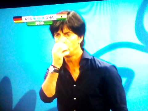 Fifa World Cup 2014 Joachim loew picking his nose