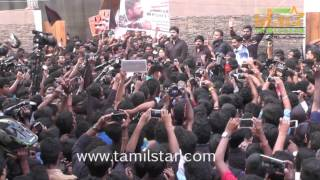 Simbu Silent Protest Against Jallikattu Ban