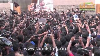 Simbu Silent Protest Against Jallikattu Ban