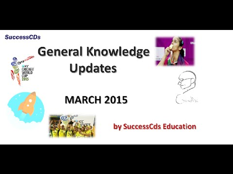 Latest General Knowledge and Current Affairs India March 2015