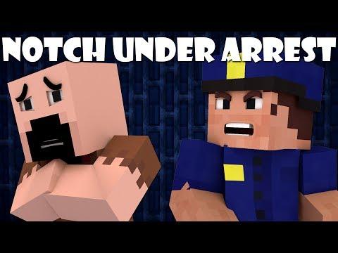 If Notch Got Arrested - Minecraft