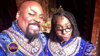 Whoopi Goldberg Surprises 'Aladdin' on Broadway With Genie Performance