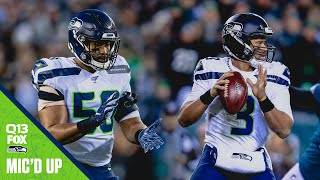 Russell Wilson & KJ Wright Mic'd Up Wild Card at Eagles | Seahawks Saturday Night